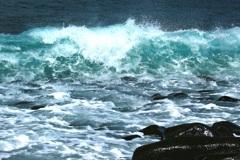玄海の白波