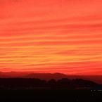 CANON Canon EOS Kiss X5で撮影した(今日の夕陽)の写真(画像)