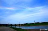 虹の珍現象 環水平アーク