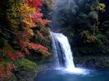 昨年の慈恩の滝