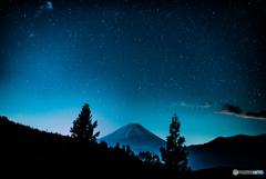初・星×富士山 おまけ