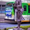DSC03099-松尾芭蕉翁も傘持参?