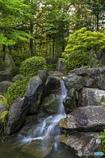 DSC00851 市立庭園の滝