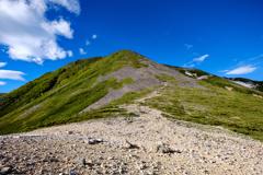 常念岳の夏(再掲です)