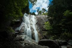 初夏の天河滝