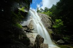 初夏の天河滝②