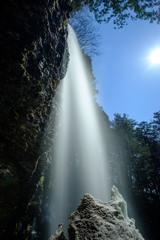 御嶽山、修験の滝② -新滝-