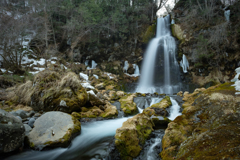 御嶽山、修験の滝③ -尾ノ島の滝-