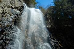 御嶽山、修験の滝① -清滝-