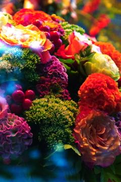 愛する君に贈る花。