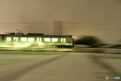 雪の東北本線