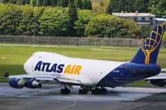 アトラス航空 747-400