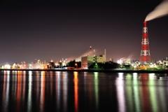 四日市 工場夜景