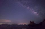 海沿いの夜空II