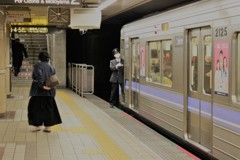 地下鉄でGO
