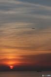 知多の夕日