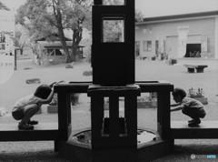 時計塔の井戸で♪