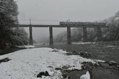 秩鉄雪景色