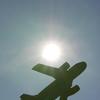 日の丸と飛行機‼