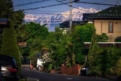山と暮らす ~自宅前~