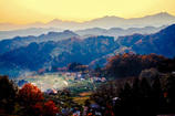 山と暮らす ~小川の晩秋~