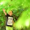 新緑の楓と大瑚