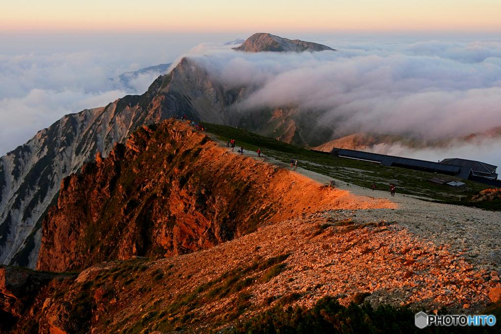 家族登山2016 白馬岳