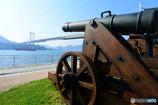 関門海峡と長州砲