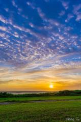 雲と夕日のセッション