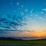 アリビラの夕日