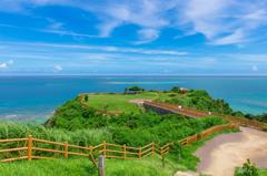緑と青の岬