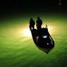 幻想的なシラスウナギ漁