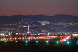 伊丹空港の夜景☆