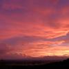 空いっぱいの夕焼雲