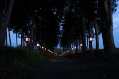 神社の参道2