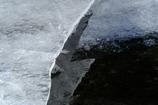 割れた氷 その2