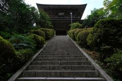 夏の雲巌寺