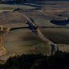 丘の上の畑