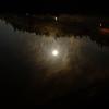 月夜の湖面 その2