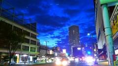 或る街の群青