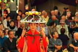 種子取祭 舞台の奉納芸能