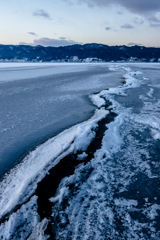 寒波の恩恵