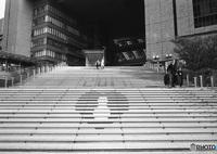 LEICA IIIfで撮影した(階段、ある時は観客席)の写真(画像)