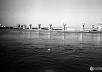 LEICA IIIfで撮影した(淀川大堰)の写真(画像)