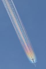 Rainbow Contrail