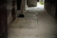 綿靴の休息