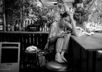 LEICA LEICA M MONOCHROM (Typ 246)で撮影した(一人生きる上海)の写真(画像)