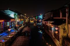 運河の夜景#2