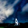 栂池高原の夜
