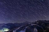 夜の八方尾根